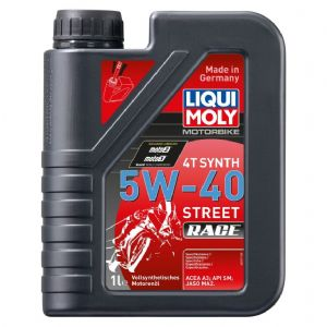 Liqui Moly 4-Stroke Fully Synthetic Street Race Oil - 5w/40 | Motorcycle Oils